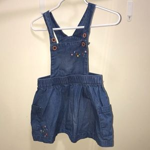 Soft jean number with adorable detail